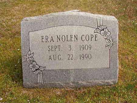 NOLEN COPE, ERA - Hempstead County, Arkansas | ERA NOLEN COPE - Arkansas Gravestone Photos
