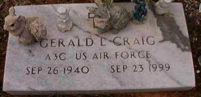 CRAIG (VETERAN), GERALD L - Hempstead County, Arkansas   GERALD L CRAIG (VETERAN) - Arkansas Gravestone Photos