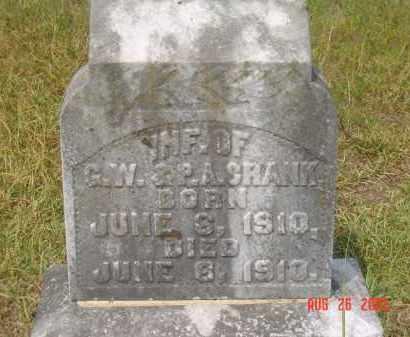 CRANK, INFANT - Hempstead County, Arkansas | INFANT CRANK - Arkansas Gravestone Photos