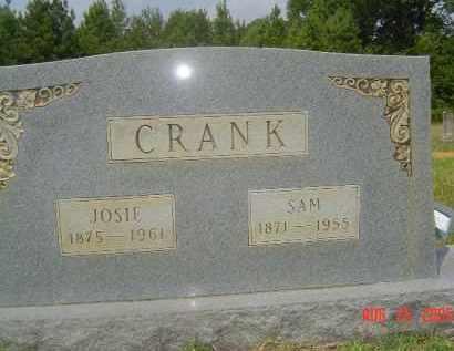 MCCLELLAN CRANK, JOSEPHINE CALDONIA - Hempstead County, Arkansas | JOSEPHINE CALDONIA MCCLELLAN CRANK - Arkansas Gravestone Photos