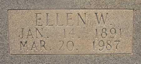 CUMBIE, ELLEN W (CLOSEUP) - Hempstead County, Arkansas | ELLEN W (CLOSEUP) CUMBIE - Arkansas Gravestone Photos