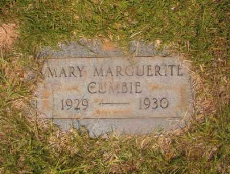 CUMBIE, MARY MARGUERITE - Hempstead County, Arkansas | MARY MARGUERITE CUMBIE - Arkansas Gravestone Photos