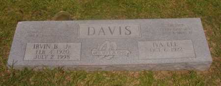 DAVIS, JR, IRVIN B - Hempstead County, Arkansas   IRVIN B DAVIS, JR - Arkansas Gravestone Photos