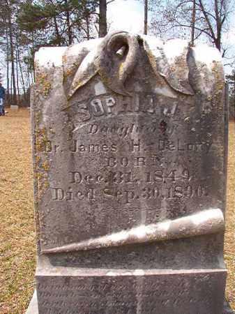 DELONY, SOPHIA J - Hempstead County, Arkansas | SOPHIA J DELONY - Arkansas Gravestone Photos