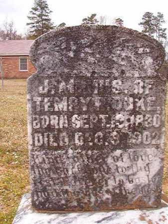 DUKE, J M - Hempstead County, Arkansas | J M DUKE - Arkansas Gravestone Photos