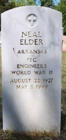 ELDER (VETERAN WWII), NEAL - Hempstead County, Arkansas | NEAL ELDER (VETERAN WWII) - Arkansas Gravestone Photos