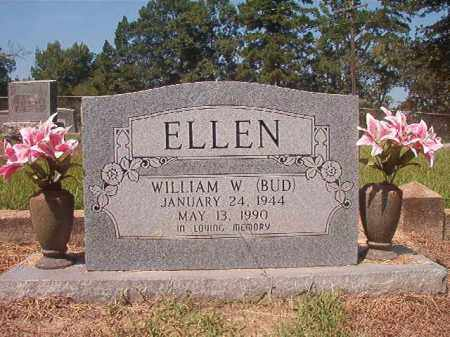ELLEN, WILLIAM W (BUD) - Hempstead County, Arkansas | WILLIAM W (BUD) ELLEN - Arkansas Gravestone Photos