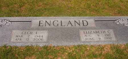 ENGLAND, CECIL L - Hempstead County, Arkansas | CECIL L ENGLAND - Arkansas Gravestone Photos