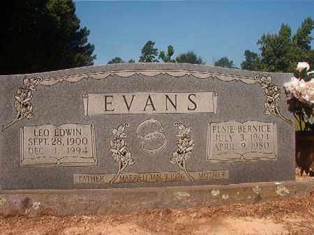 EVANS, LEO EDWIN - Hempstead County, Arkansas | LEO EDWIN EVANS - Arkansas Gravestone Photos
