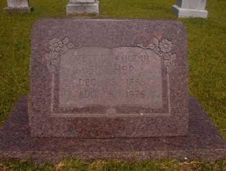 FINCHER, OZETTE - Hempstead County, Arkansas   OZETTE FINCHER - Arkansas Gravestone Photos