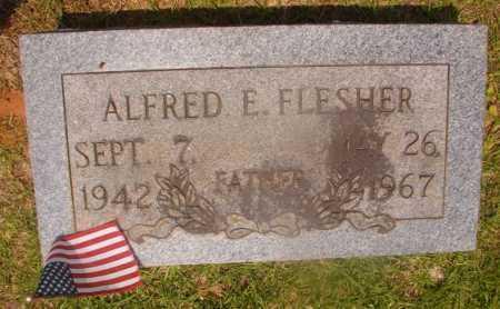 FLESHER, ALFRED E - Hempstead County, Arkansas | ALFRED E FLESHER - Arkansas Gravestone Photos