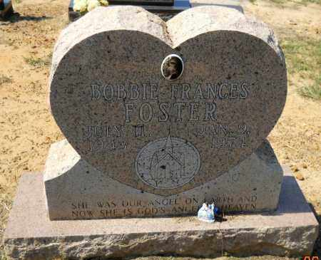 FOSTER, BOBBIE FRANCES - Hempstead County, Arkansas | BOBBIE FRANCES FOSTER - Arkansas Gravestone Photos