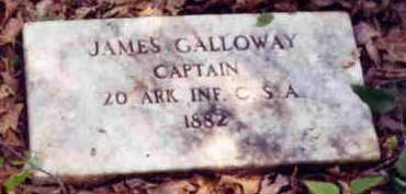 GALLOWAY (VETERAN CSA), JAMES - Hempstead County, Arkansas | JAMES GALLOWAY (VETERAN CSA) - Arkansas Gravestone Photos