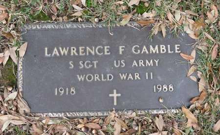 GAMBLE (VETERAN WWII), LAWRENCE F. - Hempstead County, Arkansas | LAWRENCE F. GAMBLE (VETERAN WWII) - Arkansas Gravestone Photos