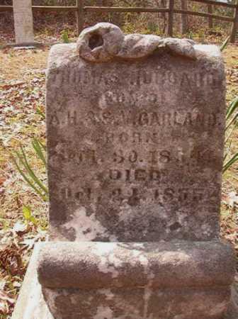 GARLAND, THOMAS HUBBARD - Hempstead County, Arkansas | THOMAS HUBBARD GARLAND - Arkansas Gravestone Photos