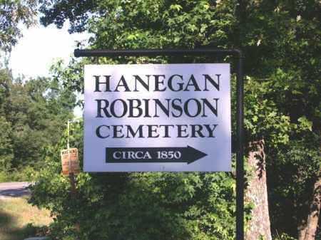 *HANEGAN-ROBINSON SIGN,  - Hempstead County, Arkansas    *HANEGAN-ROBINSON SIGN - Arkansas Gravestone Photos