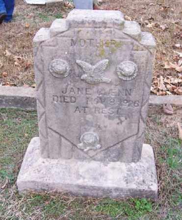 GLENN, JANE - Hempstead County, Arkansas | JANE GLENN - Arkansas Gravestone Photos