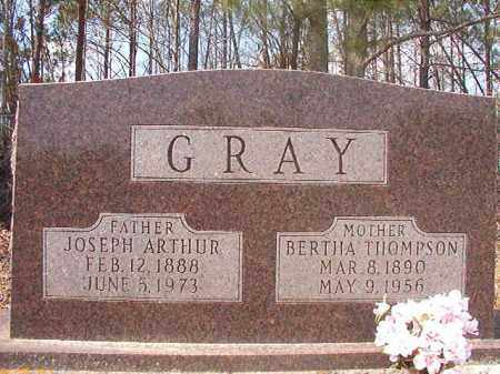 THOMPSON GRAY, BERTHA - Hempstead County, Arkansas | BERTHA THOMPSON GRAY - Arkansas Gravestone Photos