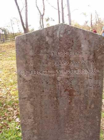 GREEN, GEORGE W - Hempstead County, Arkansas | GEORGE W GREEN - Arkansas Gravestone Photos