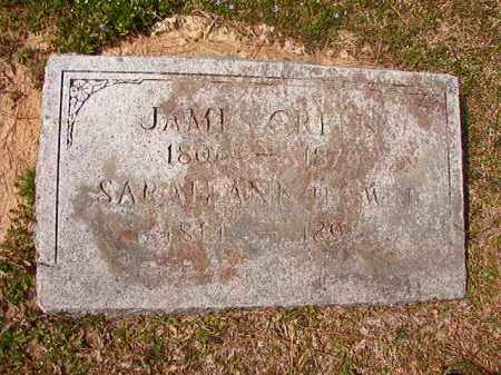 GREEN, SARAH ANN - Hempstead County, Arkansas | SARAH ANN GREEN - Arkansas Gravestone Photos
