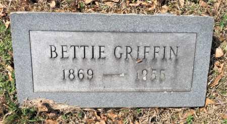 GRIFFIN, BETTIE - Hempstead County, Arkansas | BETTIE GRIFFIN - Arkansas Gravestone Photos