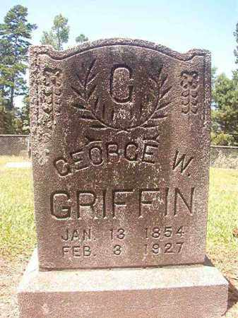 GRIFFIN, GEORGE W - Hempstead County, Arkansas | GEORGE W GRIFFIN - Arkansas Gravestone Photos