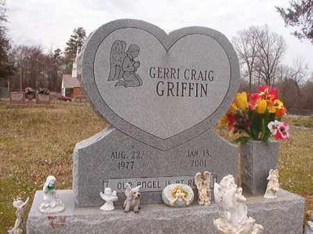 CRAIG GRIFFIN, GERRI - Hempstead County, Arkansas | GERRI CRAIG GRIFFIN - Arkansas Gravestone Photos