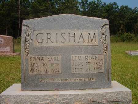 GRISHAM, LEM NEWELL - Hempstead County, Arkansas | LEM NEWELL GRISHAM - Arkansas Gravestone Photos