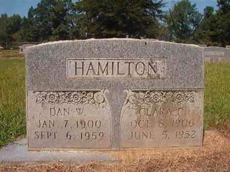 HAMILTON, DAN W - Hempstead County, Arkansas | DAN W HAMILTON - Arkansas Gravestone Photos