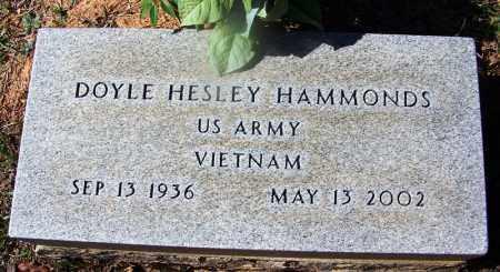 HAMMONDS (VETERAN VIET), DOYLE HESLEY - Hempstead County, Arkansas | DOYLE HESLEY HAMMONDS (VETERAN VIET) - Arkansas Gravestone Photos