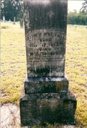 HARTSFIELD, MATHEW - Hempstead County, Arkansas   MATHEW HARTSFIELD - Arkansas Gravestone Photos
