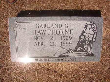 HAWTHORNE, GARLAND G - Hempstead County, Arkansas | GARLAND G HAWTHORNE - Arkansas Gravestone Photos