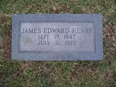 HENRY, JAMES EDWARD - Hempstead County, Arkansas | JAMES EDWARD HENRY - Arkansas Gravestone Photos