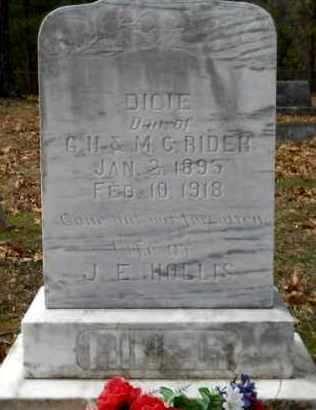 RIDER HOLLIS, DICIE - Hempstead County, Arkansas | DICIE RIDER HOLLIS - Arkansas Gravestone Photos