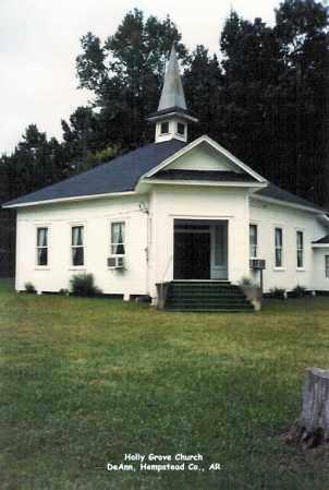 *HOLLY GROVE CHURCH CEMETERY,  - Hempstead County, Arkansas    *HOLLY GROVE CHURCH CEMETERY - Arkansas Gravestone Photos