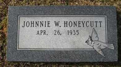 HONEYCUTT, JOHNNIE W - Hempstead County, Arkansas | JOHNNIE W HONEYCUTT - Arkansas Gravestone Photos