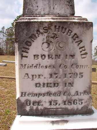 HUBBARD, THOMAS - Hempstead County, Arkansas   THOMAS HUBBARD - Arkansas Gravestone Photos