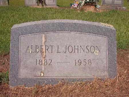 JOHNSON, ALBERT L - Hempstead County, Arkansas   ALBERT L JOHNSON - Arkansas Gravestone Photos