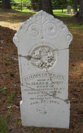WILSON JONES, ELIZABETH - Hempstead County, Arkansas | ELIZABETH WILSON JONES - Arkansas Gravestone Photos