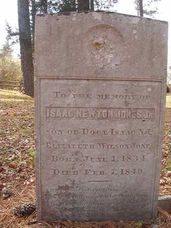 JONES, JR, ISAAC NEWTON - Hempstead County, Arkansas   ISAAC NEWTON JONES, JR - Arkansas Gravestone Photos