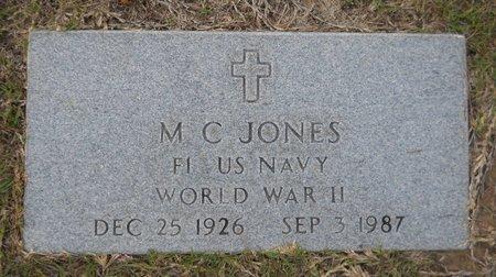 JONES (VETERAN WWII), M C - Hempstead County, Arkansas | M C JONES (VETERAN WWII) - Arkansas Gravestone Photos