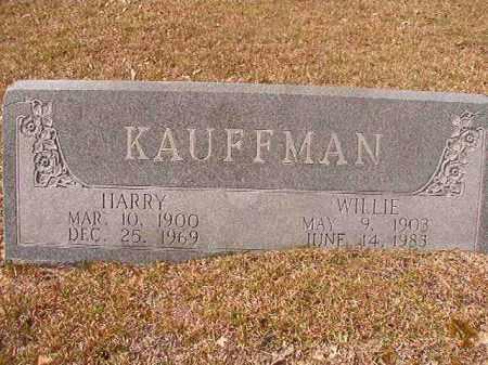 KAUFFMAN, HARRY - Hempstead County, Arkansas | HARRY KAUFFMAN - Arkansas Gravestone Photos