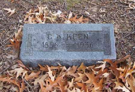 KEEN, C W - Hempstead County, Arkansas | C W KEEN - Arkansas Gravestone Photos