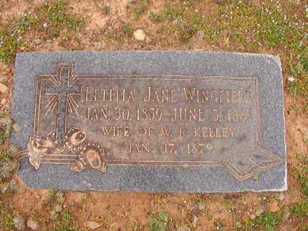 KELLEY, LETITIA JANE - Hempstead County, Arkansas | LETITIA JANE KELLEY - Arkansas Gravestone Photos