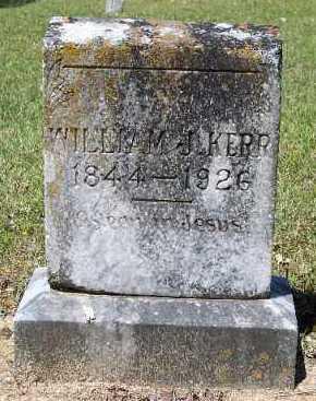 KERR, WILLIAM J - Hempstead County, Arkansas   WILLIAM J KERR - Arkansas Gravestone Photos
