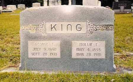 "KING, MARY ELIZABETH ""MOLLIE"" - Hempstead County, Arkansas | MARY ELIZABETH ""MOLLIE"" KING - Arkansas Gravestone Photos"