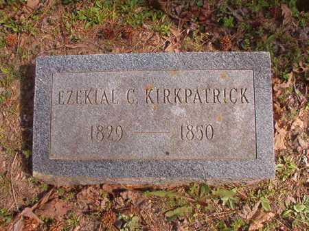 KIRKPATRICK, EZEKIAL C - Hempstead County, Arkansas | EZEKIAL C KIRKPATRICK - Arkansas Gravestone Photos