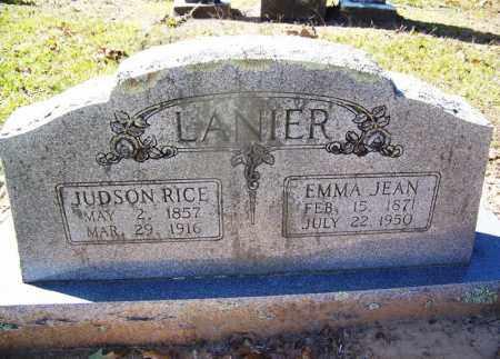 LANIER, JUDSON RICE - Hempstead County, Arkansas   JUDSON RICE LANIER - Arkansas Gravestone Photos