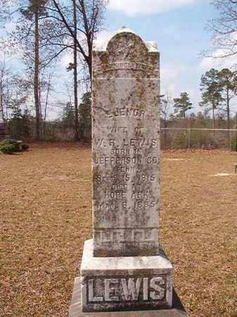 LEWIS, ELENOR - Hempstead County, Arkansas | ELENOR LEWIS - Arkansas Gravestone Photos