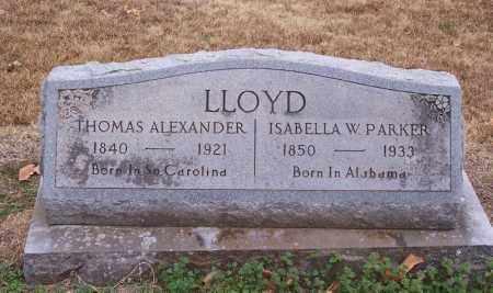 LLOYD, THOMAS ALEXANDER - Hempstead County, Arkansas | THOMAS ALEXANDER LLOYD - Arkansas Gravestone Photos